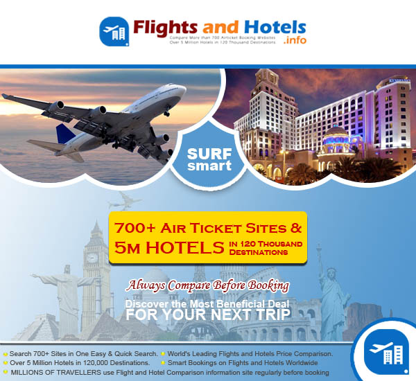 search lowest price for same Flight and Hotel