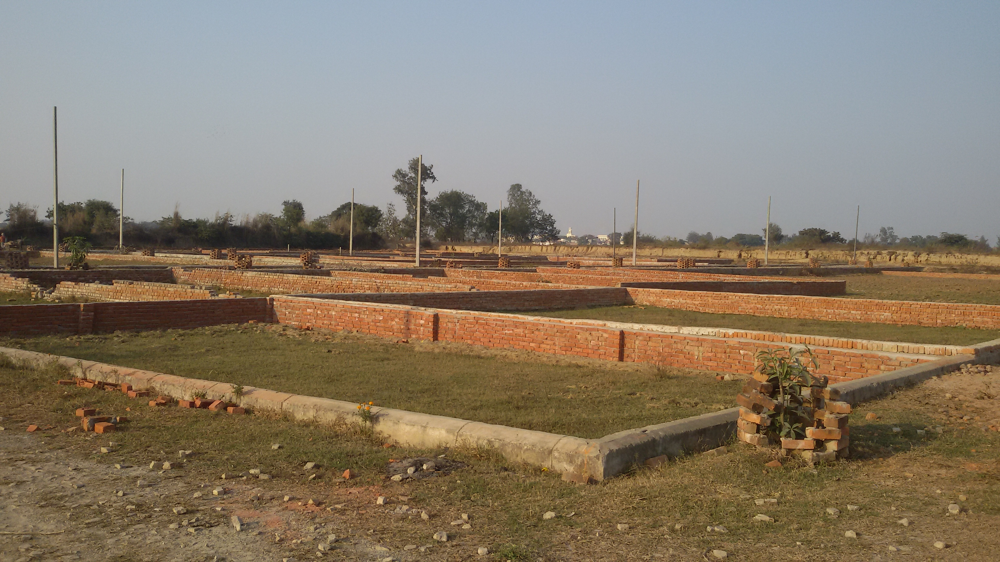Fully developed Residential plots in Lucknow