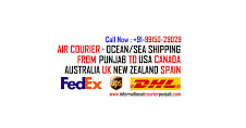 Courier Service Nakodar Noormahal to Australia USA Canada UK Call: +91-9915001700