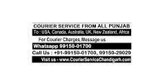 Courier Company Service Moga Firozpur Faridkot Punjab to Sydney Melbourne Australia Call: 9915001700