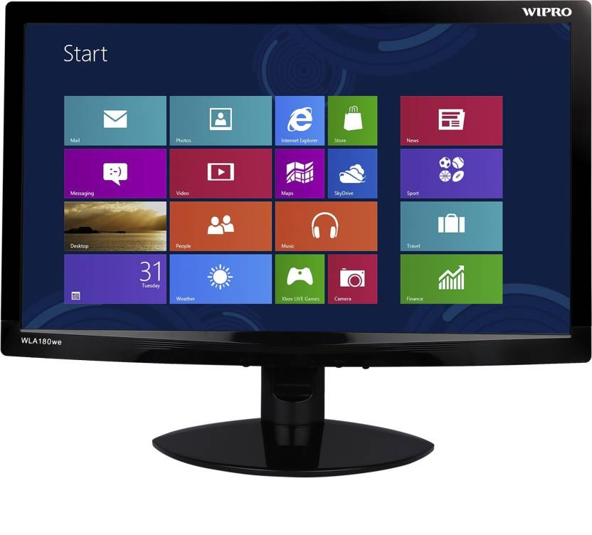 Wipro 18.5 inch HD Lcd- WLA180we Monitor