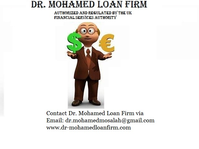 At Dr. Mohamed Loans Firm we can help you find a solution for all your financial needs. in  listed under Services - Loans / Insurance