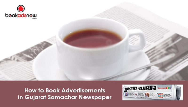 Book Advertisement in Gujarat Samachar for Surat Region in Kolkata