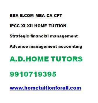 Class 11 12 accounts home tutor economics home tutor in noida in  listed under Education - Coaching / Tuitions