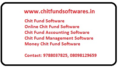 Online Chit Fund Software, Chit Fund Software Online in Chennai