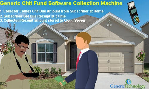Generic chit fund software Collection Machine in  listed under Services - Computer / Web Services