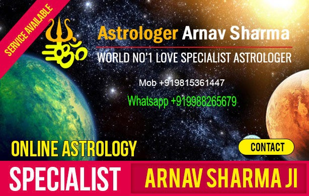 Love specialist astrologer in Mumbai Arnav Sharma +91-9988265679 in  listed under Services - Astrology / Numerology