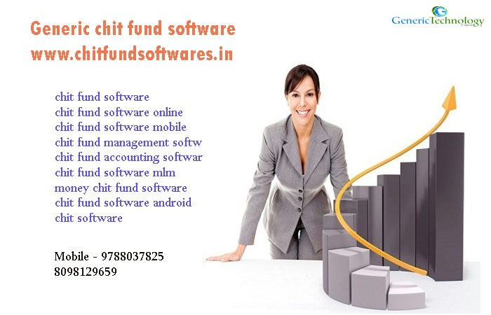 Generic chit fund software easy to use accounts in  listed under Services - Advertising / Design