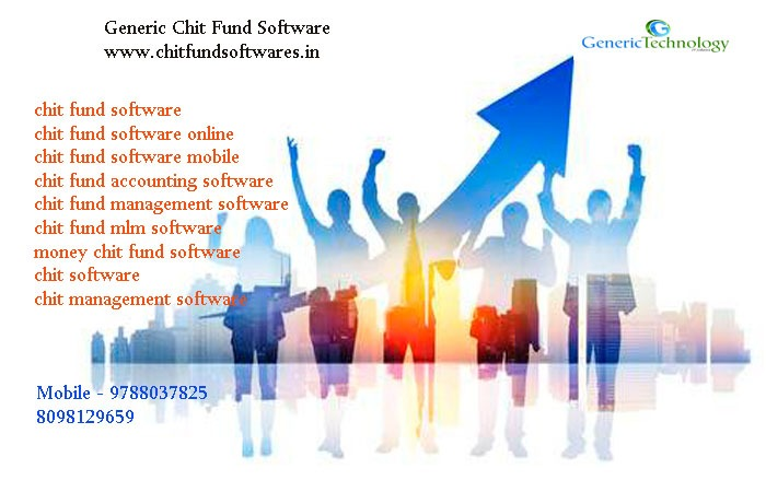 Generic Chit Fund Management Software Collectors in Mobile in Chennai listed under Services - Advertising / Design