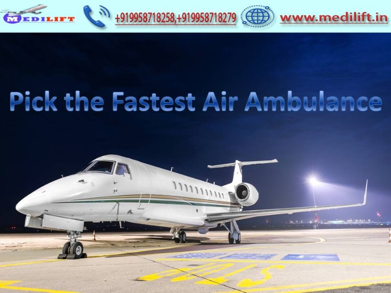 Trustful and Low-Cost Emergency Air Ambulance in Kolkata with Doctor in Ranchi listed under Services - Healthcare / Fitness
