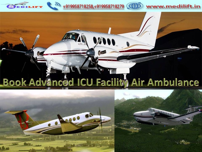 Best Medical Care Air Ambulance Service in Patna by Medilift in  listed under Services - Healthcare / Fitness