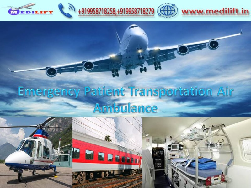 Medilift Full ICU Setups Air Ambulance Service in Kolkata in  listed under Services - Healthcare / Fitness