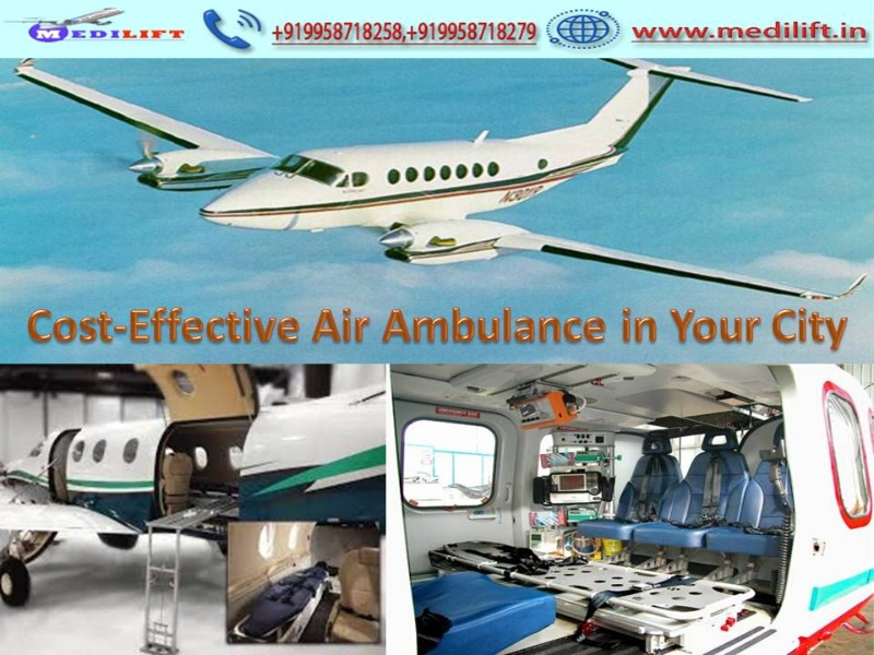 Trustful Medical Support Air Ambulance Service in Ranchi in  listed under Services - Healthcare / Fitness