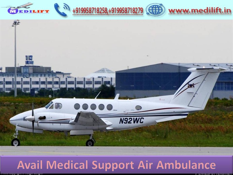 Take Safe Patient Transfer Air Ambulance Service in Varanasi in  listed under Services - Healthcare / Fitness