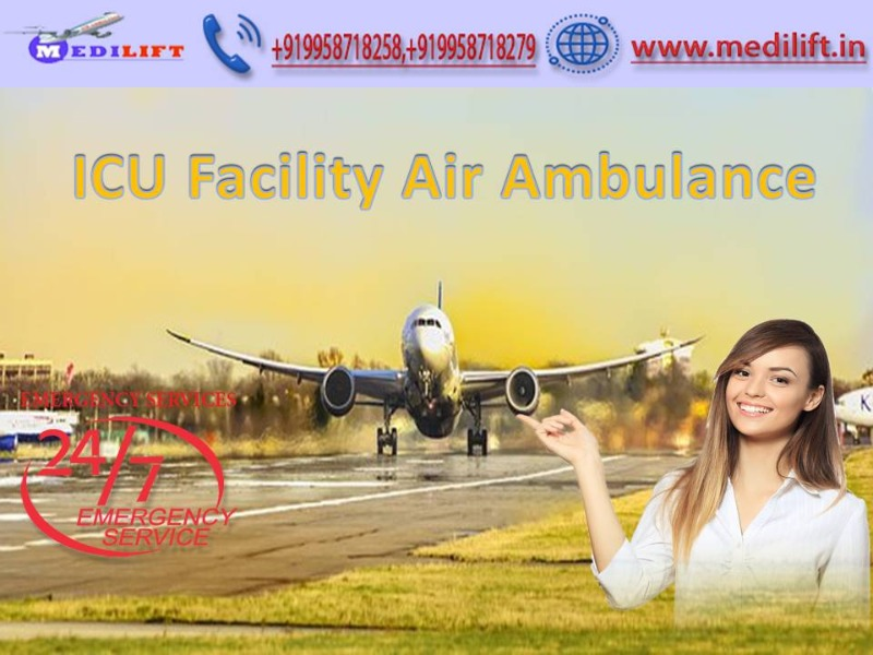 Hire Most Reliable Air Ambulance Service in Hyderabad by Medilift in  listed under Services - Other