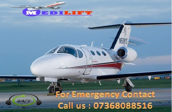 Select World-Class Air Ambulance Services in Guwahati by Medilift in  listed under Services - Healthcare / Fitness