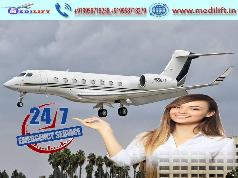 Utilize Medical Facility Air Ambulance Service in Siliguri by Medilift in  listed under Services - Other
