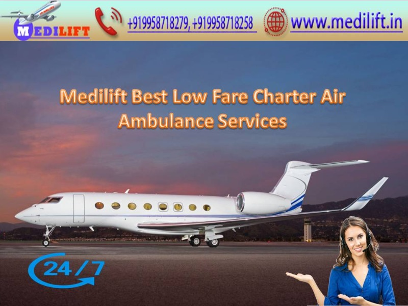 Take Modern Air Ambulance Service in Gorakhpur by Medilift in  listed under Services - Other