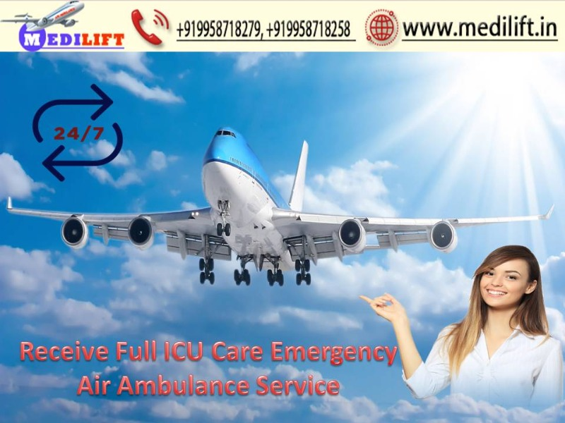 Hire Superior Air Ambulance Service in Varanasi with ICU Support in  listed under Services - Other