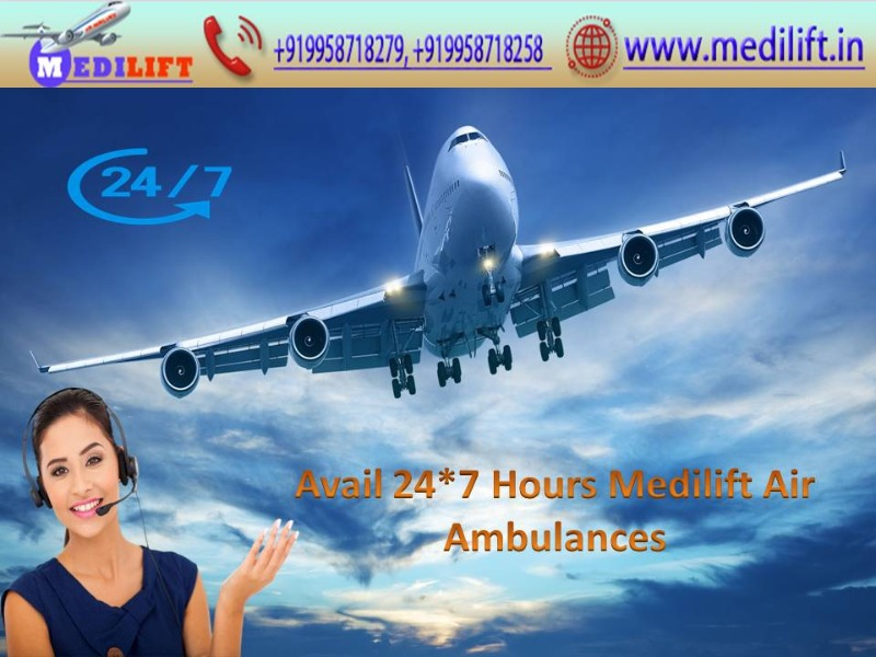 Pick Top-Level Air Ambulance Service in Indore by Medilift in  listed under Services - Other