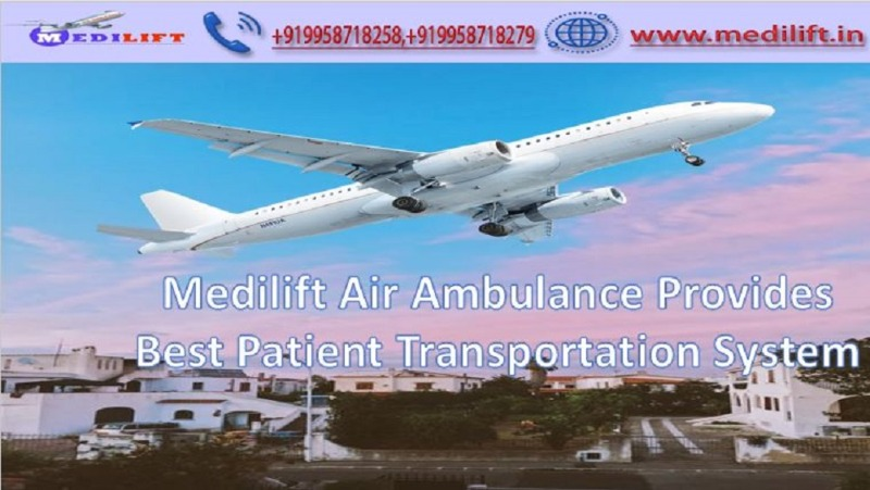 Book Hi-Tech Air Ambulance Service in Jabalpur by Medilift in  listed under Services - Other