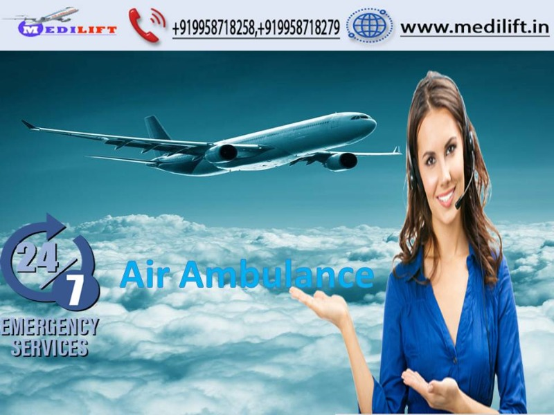 Take Advanced Medical Facility Air Ambulance Service in Siliguri by Medilift  in  listed under Services - Other