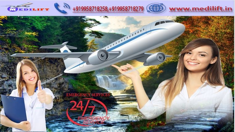 Receive Medilift Best Low Fare Air Ambulance Service in Mumbai in  listed under Services - Healthcare / Fitness