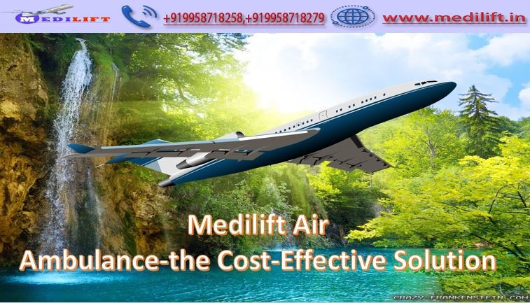 Most Reliable Air Ambulance Service in Bhopal by Medilift in  listed under Services - Healthcare / Fitness