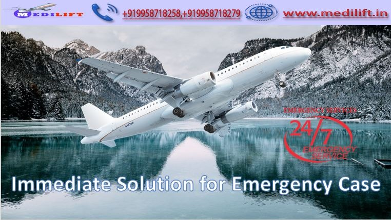 Avail Medilift Full ICU Setups Air Ambulance Service in Bagdogra in Ranchi listed under Services - Healthcare / Fitness
