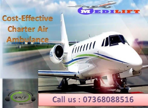 Use Medilift Best Medical Support Air Ambulance Services in Ranchi in  listed under Services - Healthcare / Fitness