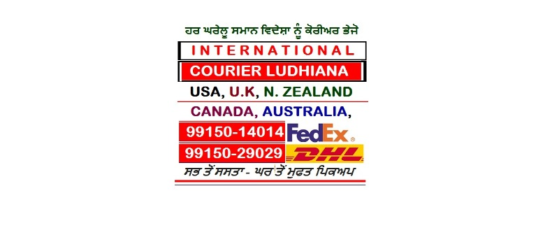 CALL 9915014014 DHL Courier Household items Delivery to USA Australia Canada UK from Ludhiana  in  listed under Services - Courier Services