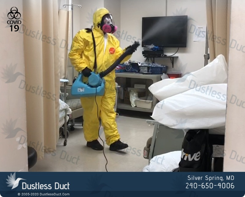 Sanitizing and Disinfecting Services - Dustless Duct  in  listed under Services - Announcements
