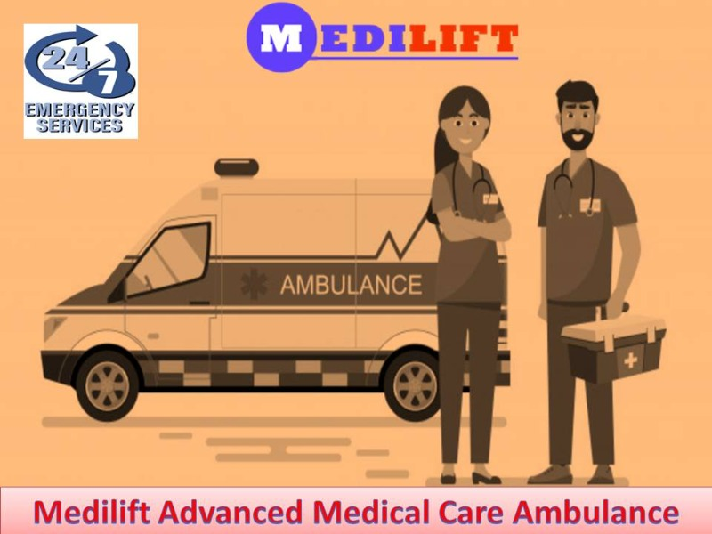 Medilift ICU Ambulance Service in Madhubani-Avail Fast Patient Transfer in  listed under Services - Healthcare / Fitness