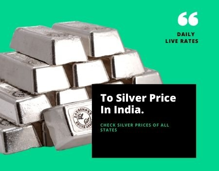 Best Silver Price Live in India | Silver Rate In India in  listed under Services - Advertising / Design