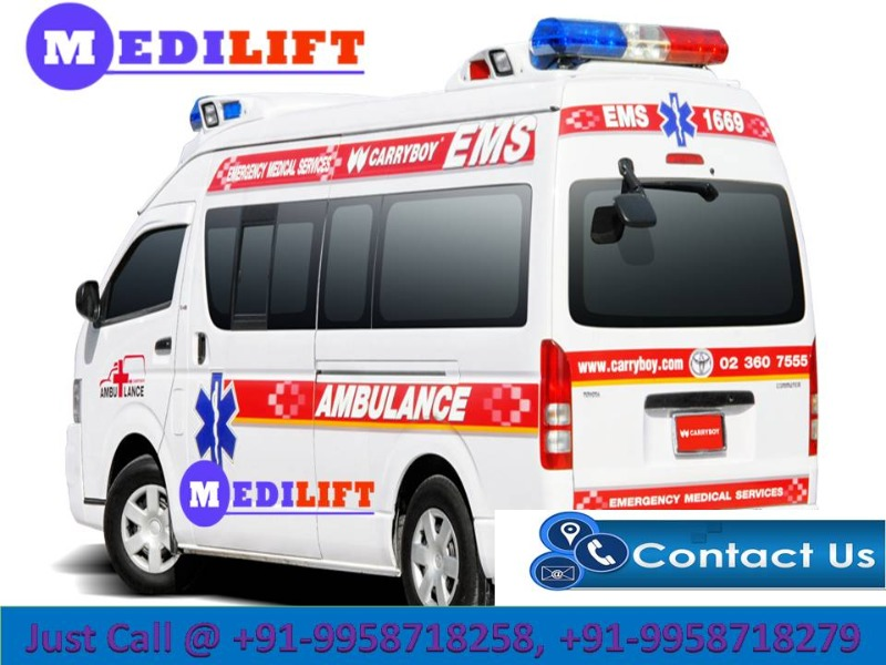 Now Book Medilift ICU Emergency Ambulance Service in Patna in  listed under Services - Healthcare / Fitness
