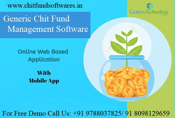 Generic Chit Fund Management SoftwareOnline in  listed under Services - Computer / Web Services