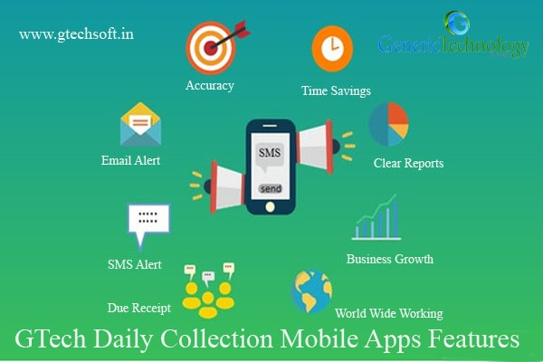 GTech Daily Collection Software Mobile Apps Features in  listed under Services - Computer / Web Services