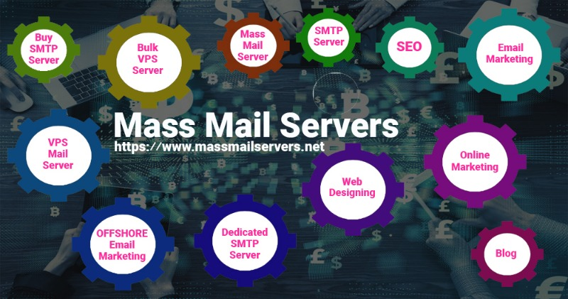 Unlimited SMTP Server in California, US