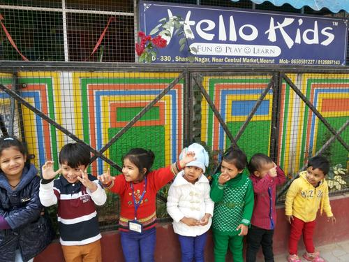 Admissions Open for 2015-16 @ Hello Kids Play School, Meerut in Shastri Nagar