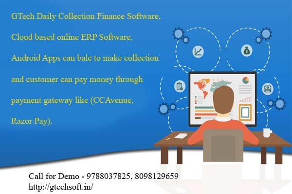 Daily Collection Software Android Application in  listed under Services - Advertising / Design