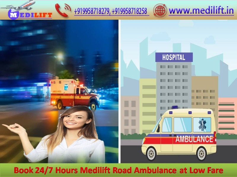 Most Reliable Ambulance Service in Rajendra Nagar by Medilift Anytime in  listed under Services - Healthcare / Fitness