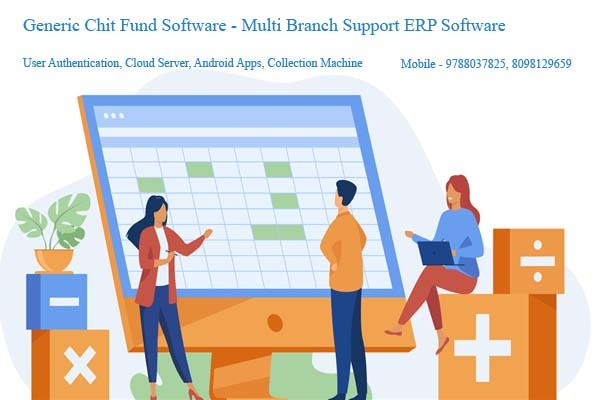 Generic Chit Fund Software Multi Branch Support in  listed under Services - Advertising / Design