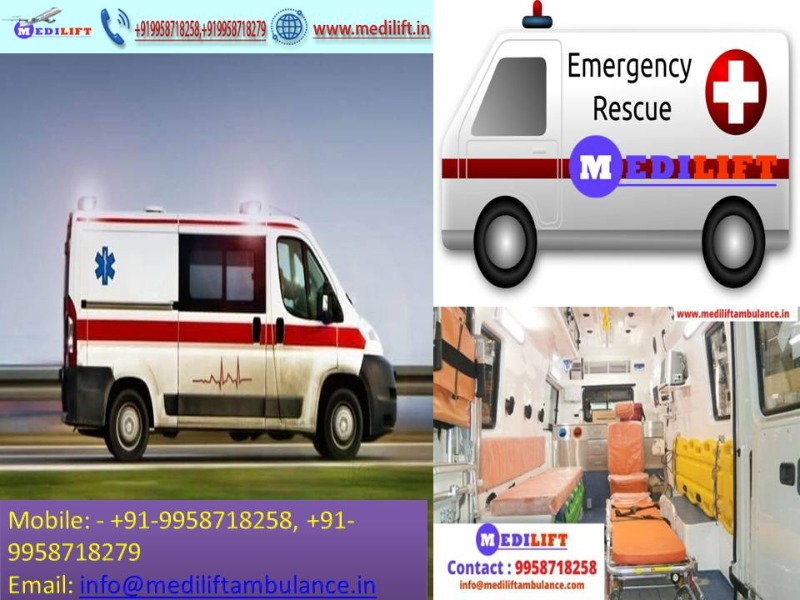 Now Hire Low Cost Medilift Ambulance Service in Danapur Anytime in  listed under Services - Healthcare / Fitness