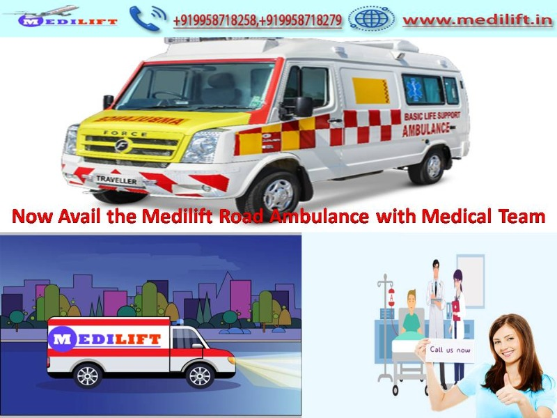 Hire the Best Medilift Ambulance Service in Boring Road at Low Fare in  listed under Services - Healthcare / Fitness