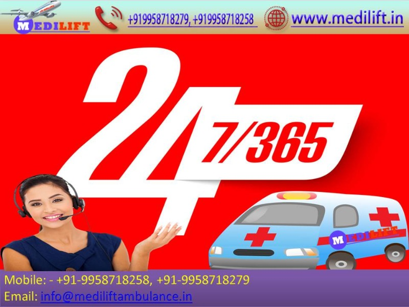 Get Medical Facility Ambulance Service in Patel Nagar Anytime in  listed under Services - Healthcare / Fitness