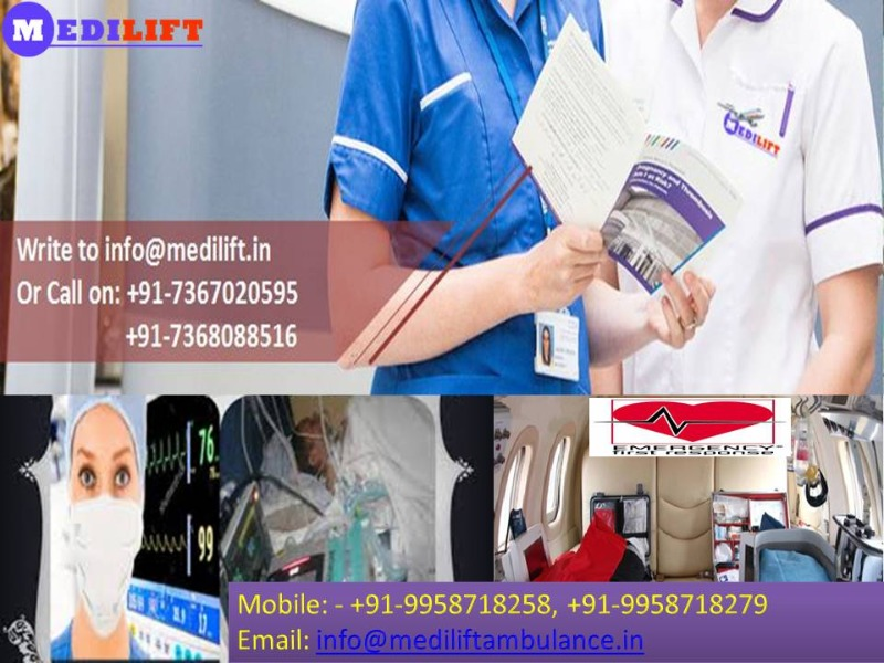 Low-Cost ICU Ambulance Service in Sipara Available Now in Patna listed under Services - Healthcare / Fitness