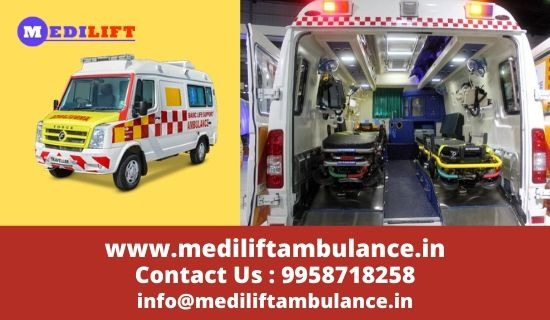 Get Advantage of Low Fare Medilift Ambulance Service in Gola Road in  listed under Services - Healthcare / Fitness