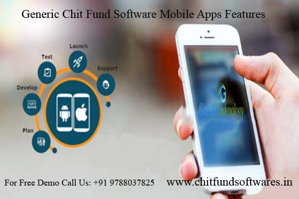 Generic Chit Fund Software Mobile Application Features in  listed under Services - Computer / Web Services