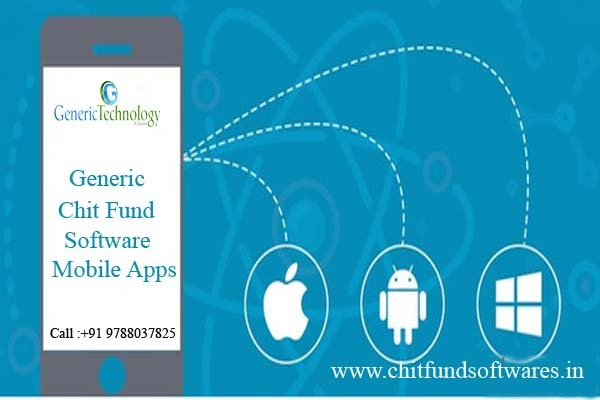 Generic chit fund software mobile apps support in  listed under Services - Computer / Web Services