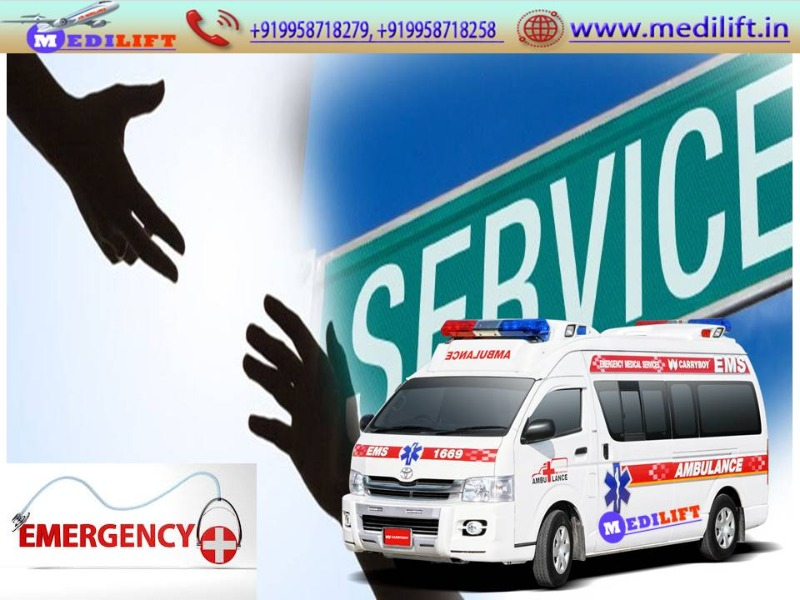 Appreciable and Low-Cost Medilift Ambulance Service in Patna  in Patna listed under Services - Healthcare / Fitness